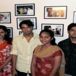 Nilima Panda, Urvashi Vyas, Manjul Indauliya & Abhinav Gupta of KIIT Law School, Bhubaneshwar ( Summer Tranee 2010 at the Uday Foundation )