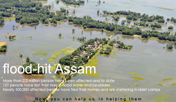 Assam flood Relief 2012 Assam Flood Relief 2012