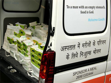 fresh food going to hospitals Free Food Van for Families of Patients in the Hospitals